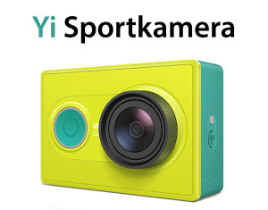 Xiaomi Yi Action Camera zum Bestpreis kaufen