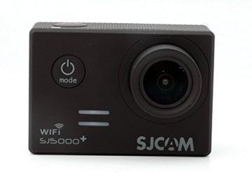 Ursprüngliche SJCAM SJ5000 Plus-WiFi Ambarella A7LS75 16MP 1.5 Zoll 1080P 60FPS mit 170 ° Weitwinkel Objektiv Sport-Tätigkeits-Außenkamera Wasserdichte Cam DV-Camcorder HD Auto DVR für Fahrrad / Motorrad / Tauchen / Schwimmen (schwarz) - 1
