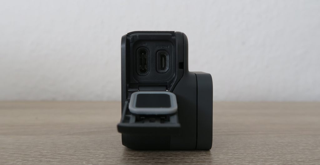 GoPro Hero 5 USB-Type-C, mini HDMI Anschluss