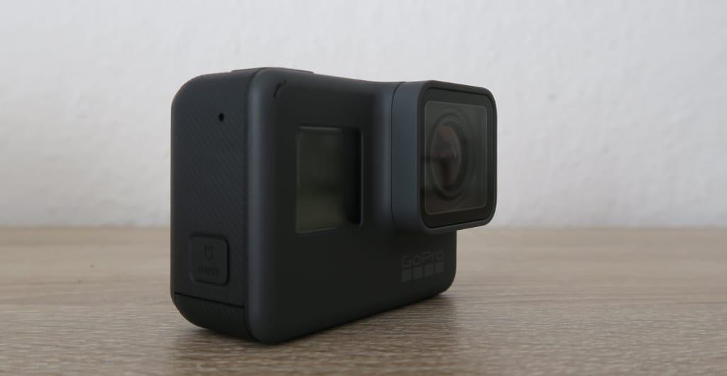 GoPro Hero5 Seitenansicht
