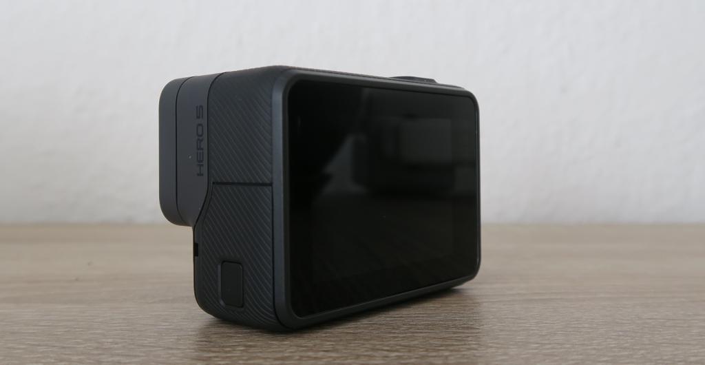 GoPro Hero5 Black Seiten/Rückansicht