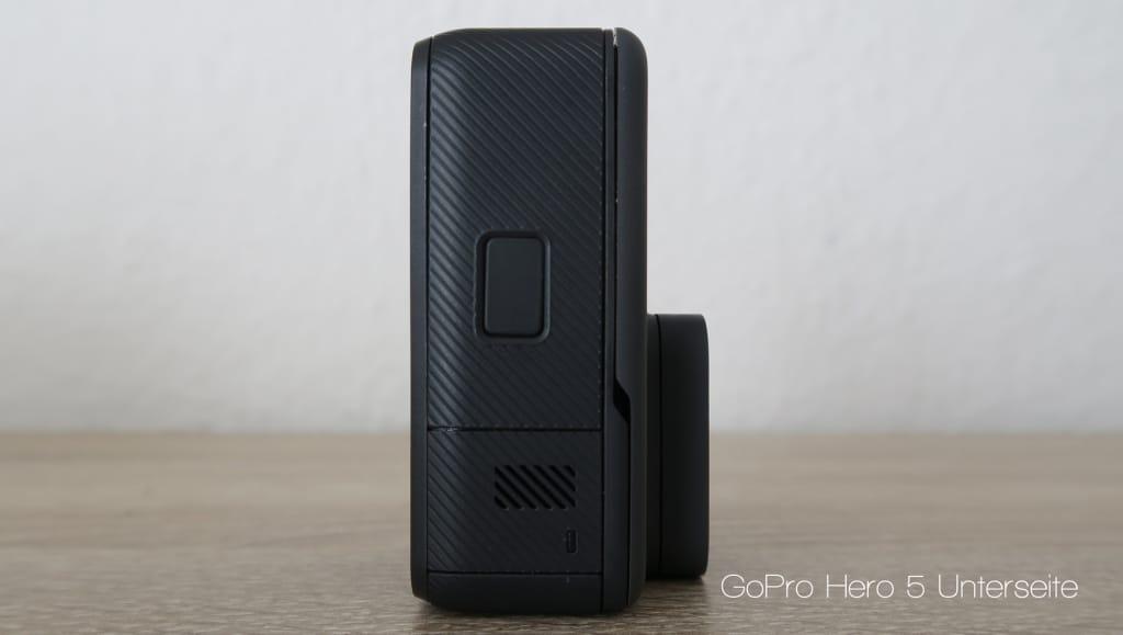 GoPro Hero5 Unterseite