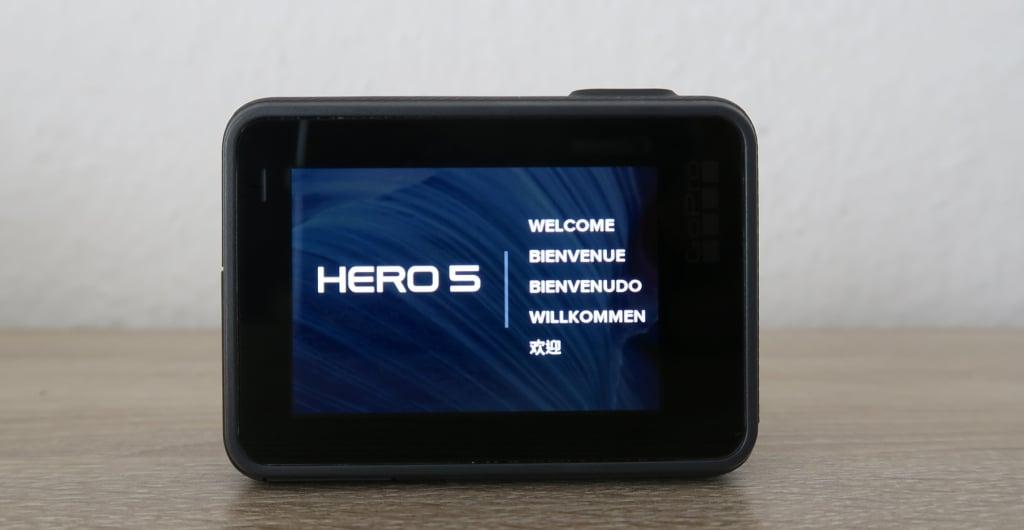 GoPro Hero 5 Einrichtung