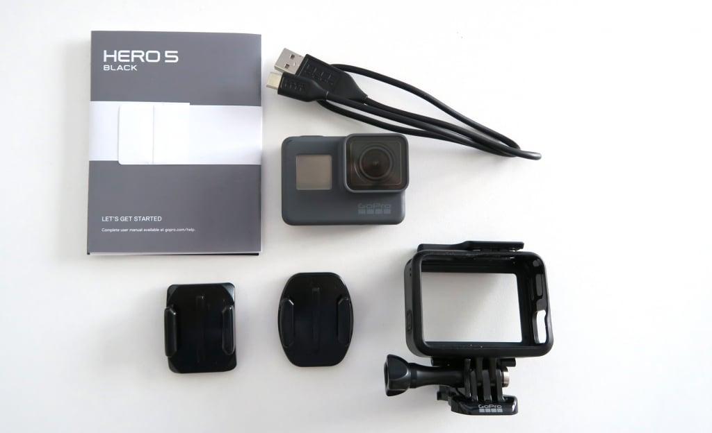GoPro Hero5 Black enthaltenes Zubehör