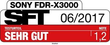 Sony FDR-X3000R 4K Actionkamera -